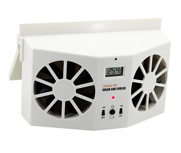 Livoty Solar Powered Fan & Air Vent