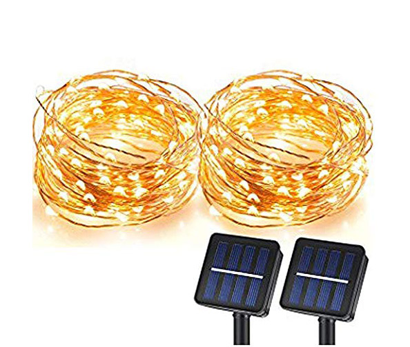 MAGICTEC Solar String Lights, 36ft (100 LEDs)