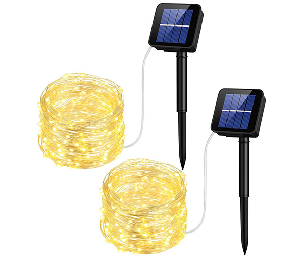 MPOW Solar String Lights, 33ft (100 LEDs)