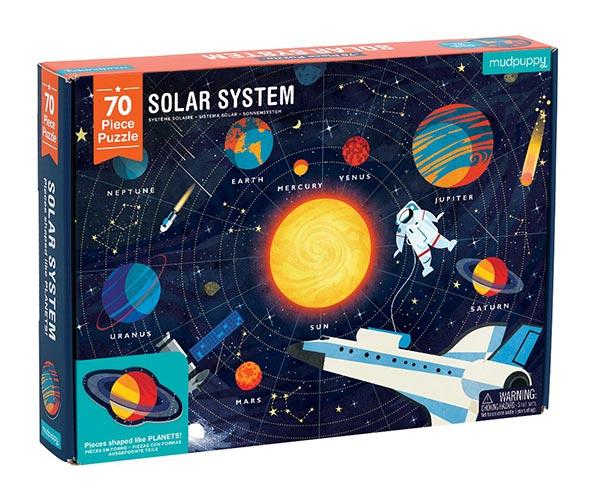 Mudpuppy Solar System Puzzle – 70 Piece