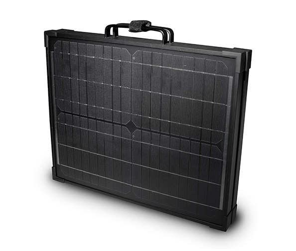 NATURE POWER 120W Briefcase Monocrystalline Solar Panel
