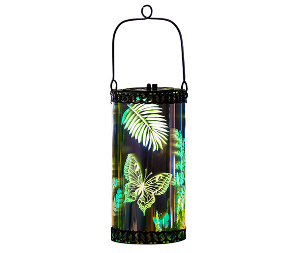 Outdoor Garden Stargazing Solar Hanging Lantern Light, Dragonfly
