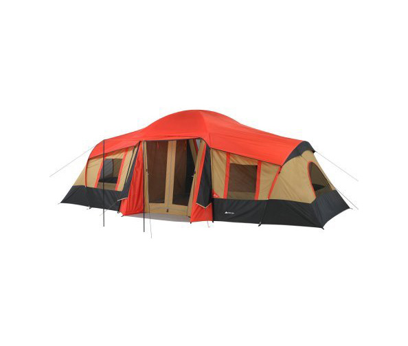 Ozark Trail Tent + Sunnybag POWERTAB Panel