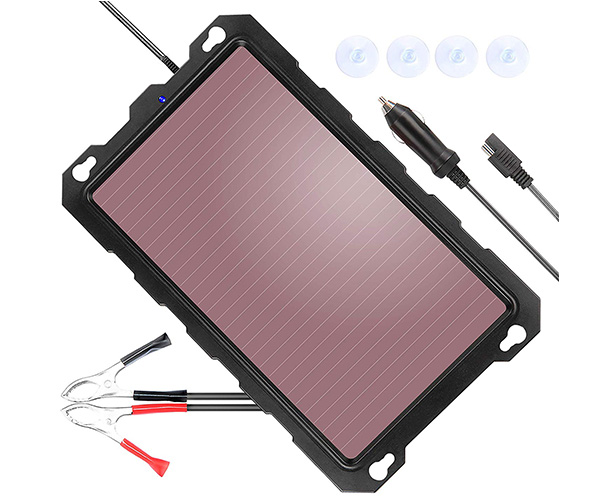 POWISER 3.3W Solar Battery Charger