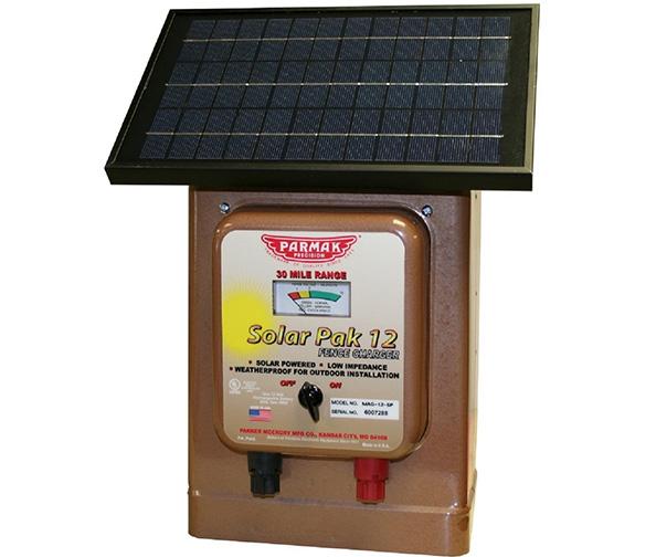 Parmak Magnum Solar-Pak 12V