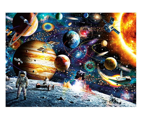 Planets in Space Jigsaw Puzzle – 1000 Piece