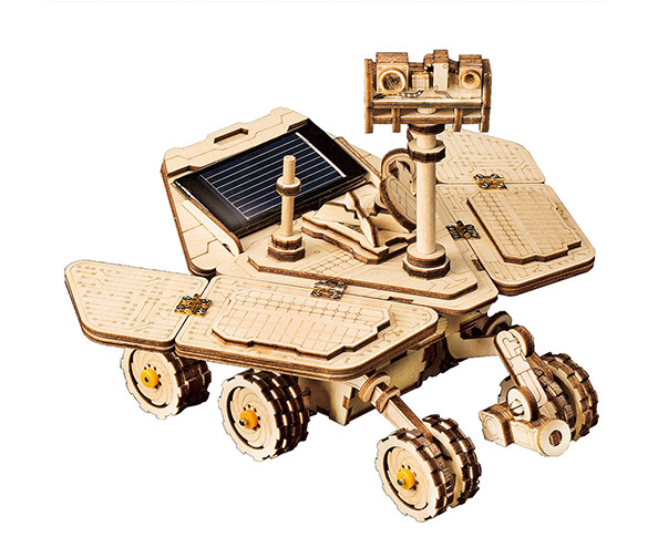 ROKR Solar 3D Movable Wooden Rover Puzzle