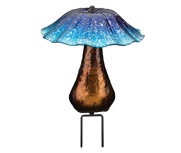 Regal Art & Gift Solar Toadstool Light
