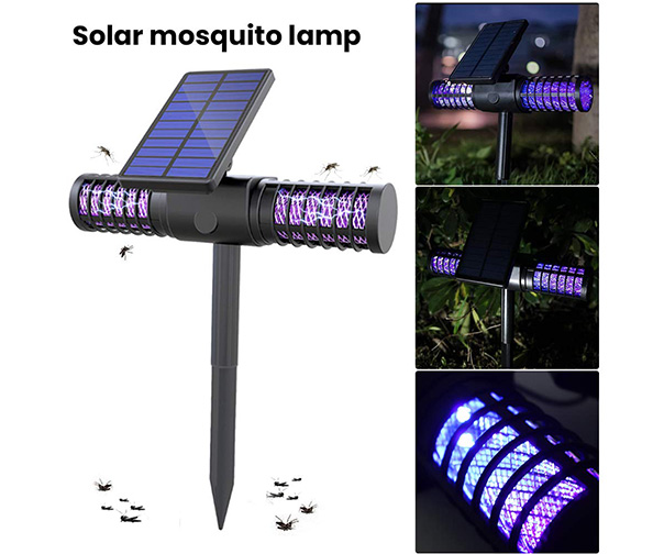 RoJuicy Solar Waterproof Bug Zapper