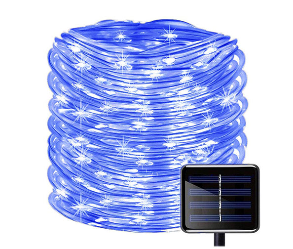 SOCO Solar Rope String Lights, 33ft (100 LEDs)