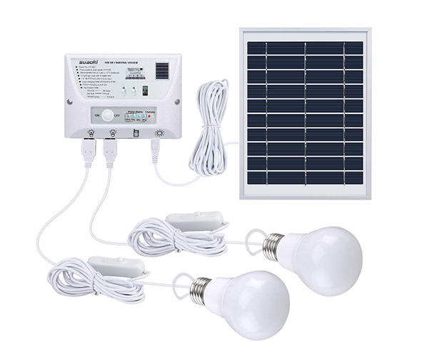 SUAOKI Solar Panel Light Kit