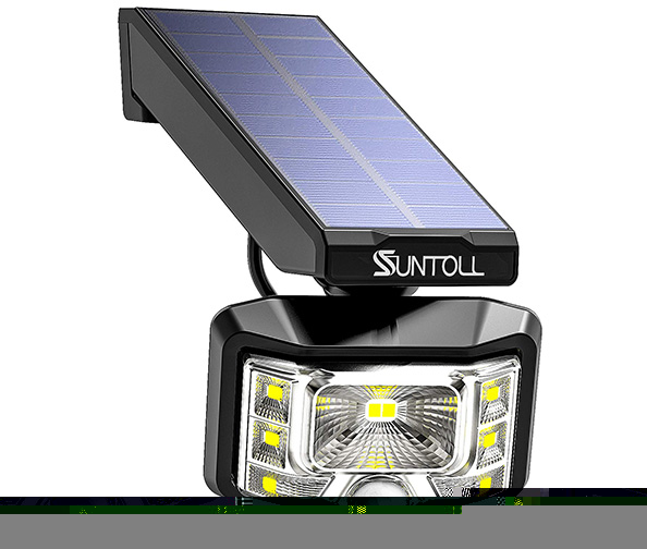 SUNTOLL 8 LED Solar Sensor Light