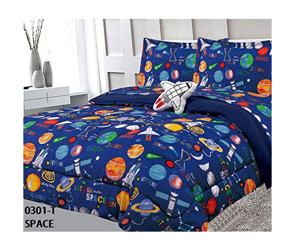 Sapphire Home 6-Pack Twin Size Comforter Set