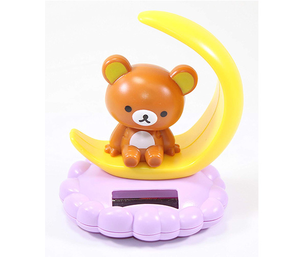 Solar Bobble Rilakkuma Bear Toy