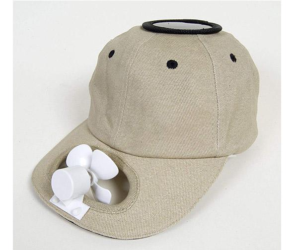 Solar Cooling Baseball Cap
