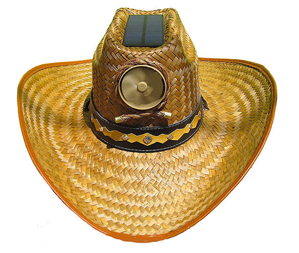 Solar-Powered Cowboy Hat