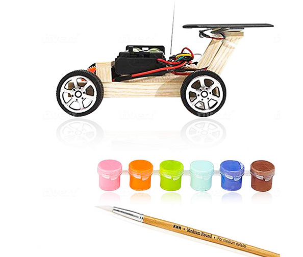 Solar Remote Control Car Creative Circuit Science Toy