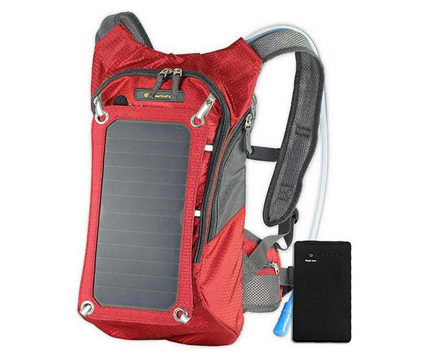 SolarGoPack 1.8 Liter Hydration Backpack