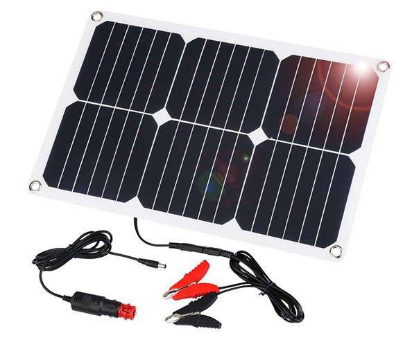Suaoki 18W Solar Car Battery Charger