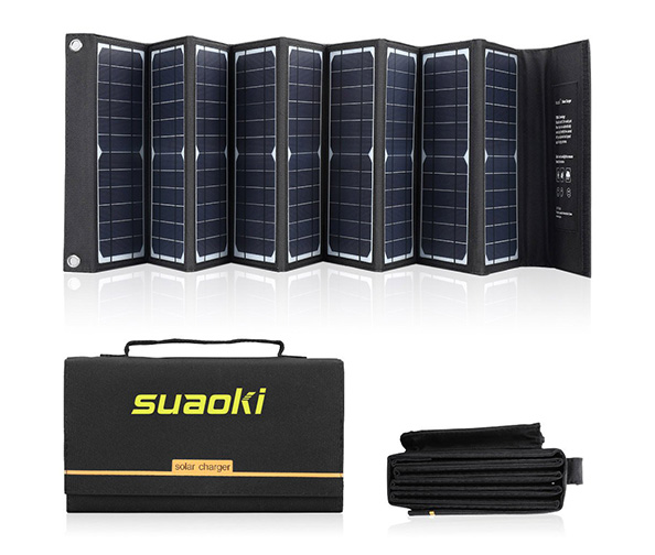 Suaoki Solar Powered Charger