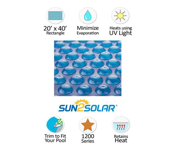 Sun2Solar Solar Pool Cover