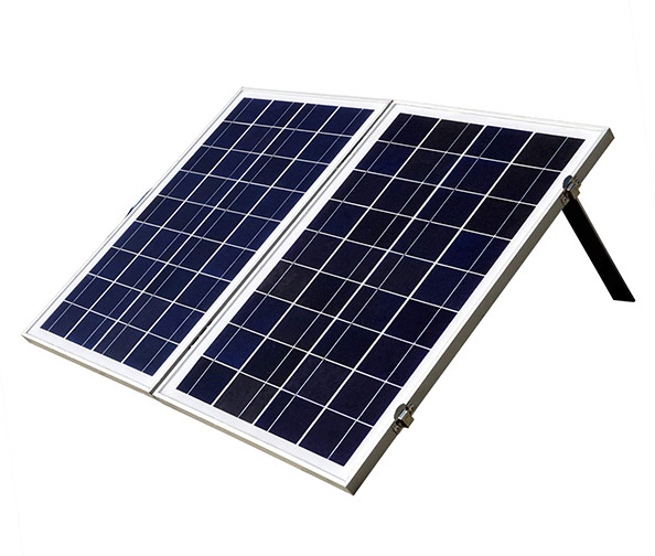 The Eco-Worthy 12-Volt Portable Foldable Solar Panel Kit