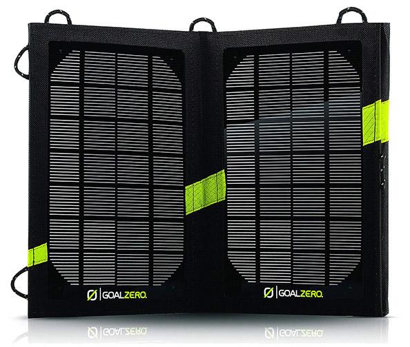 The Goal Zero Nomad 7 Solar Panel