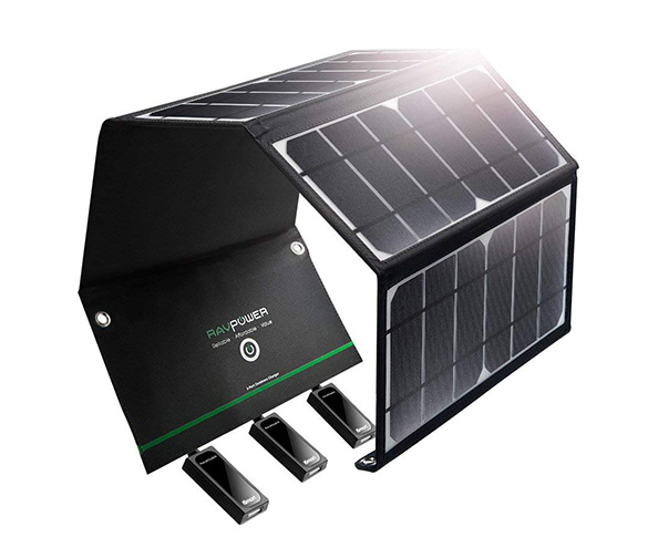 The RAVPower Solar Powered Charger