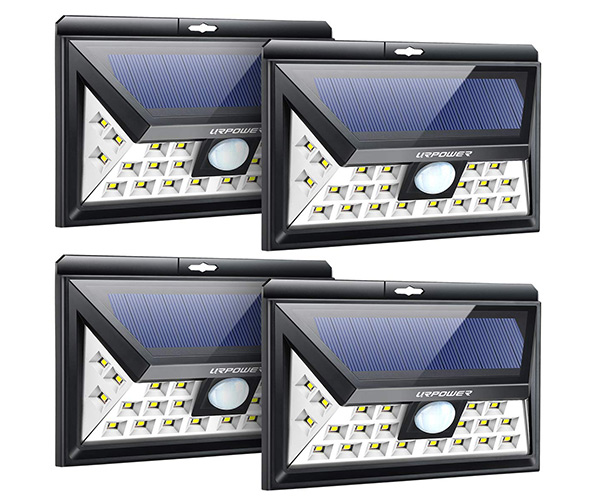 UR Power Wide Angle Solar Lights
