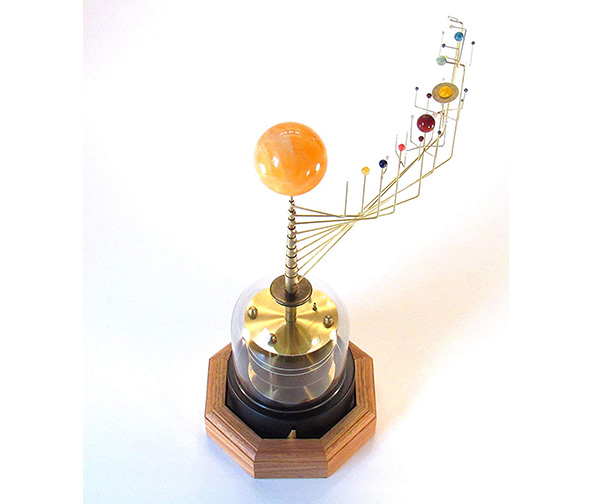 Wanderers Orrery Solar System Model