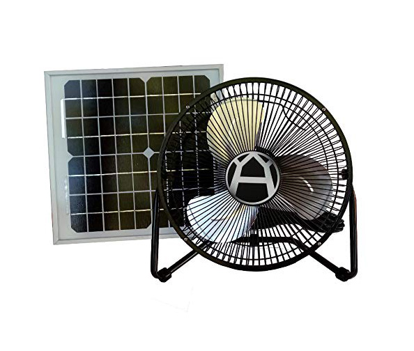Western Harmonics 12 Inch Sun-Powered Fan