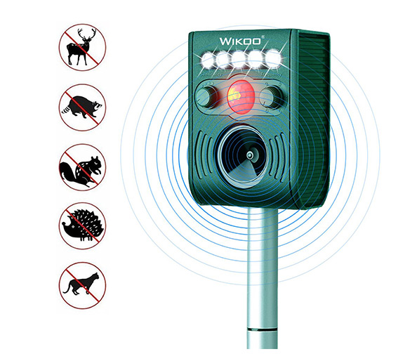 Wikoo Solar Powered Pests Repeller