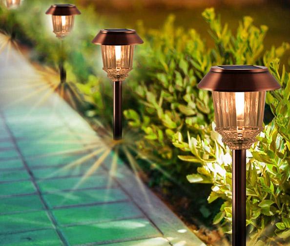 XMCosy Solar Garden Lights