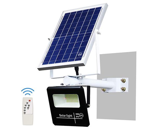 YQL 25W Outdoor LED Solar Wireless Security Wall Flood Light
