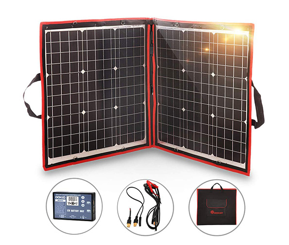 DOKIO 80W Solar Panel Kit 12V